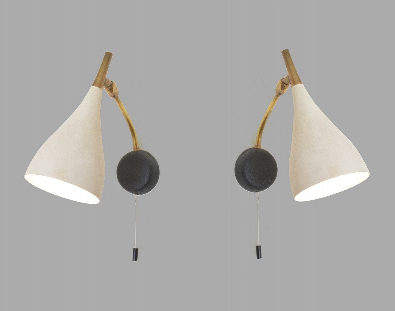 Pair of Cosack wall lamps, 1950s