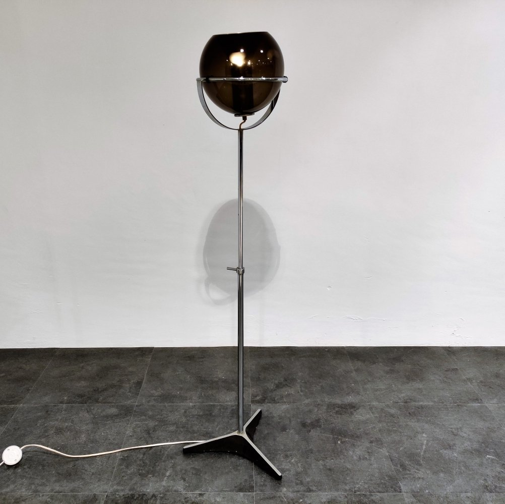 Mid-Century Globe Floor Lamp by Frank Ligtelijn for Raak, 1960s