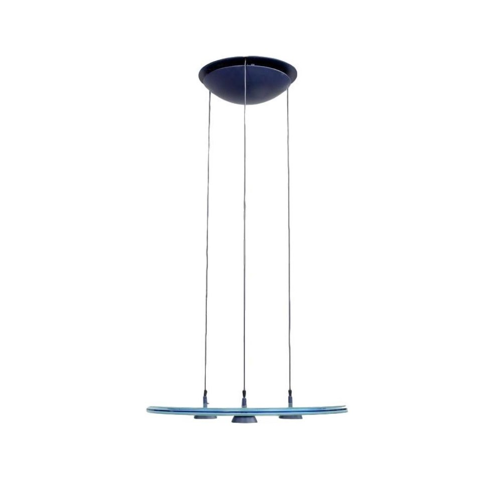 Aurora 1040 hanging lamp by Perry King for Arteluce, 1980s