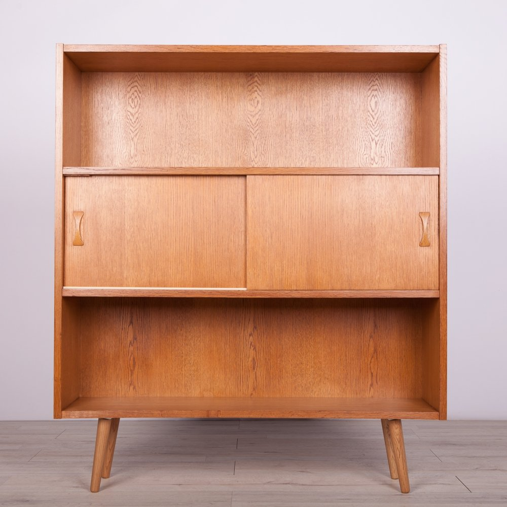 Mid-Century Danish Oak Shelf, 1970s