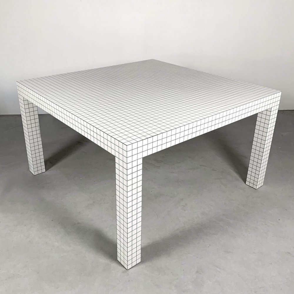 Quaderna Table by Superstudio for Zanotta, 1970s
