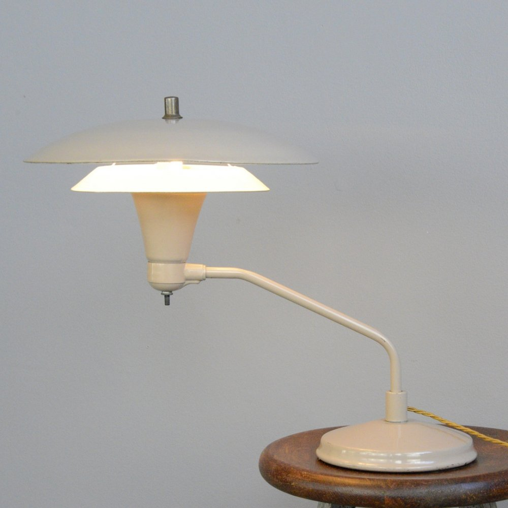 Mid Century Desk Lamp by Art Speciality Chicago, Circa 1950s