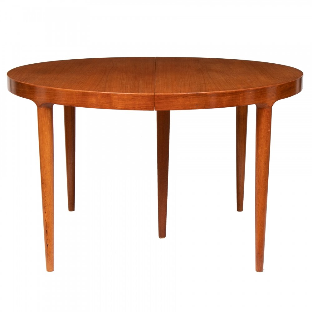 Danish Midcentury Teak Extending Dining Table, c.1960