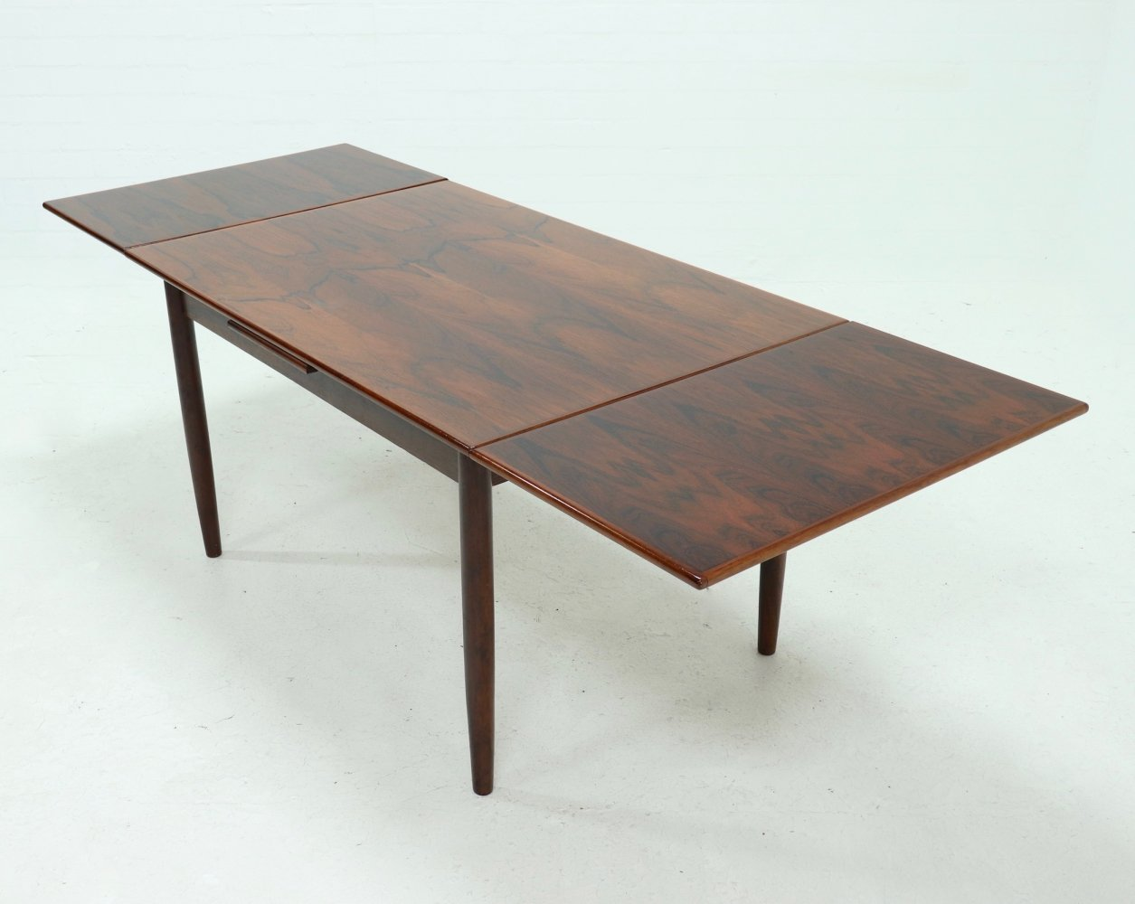 Extendable Rosewood Dining Table, Danish Design 1960s