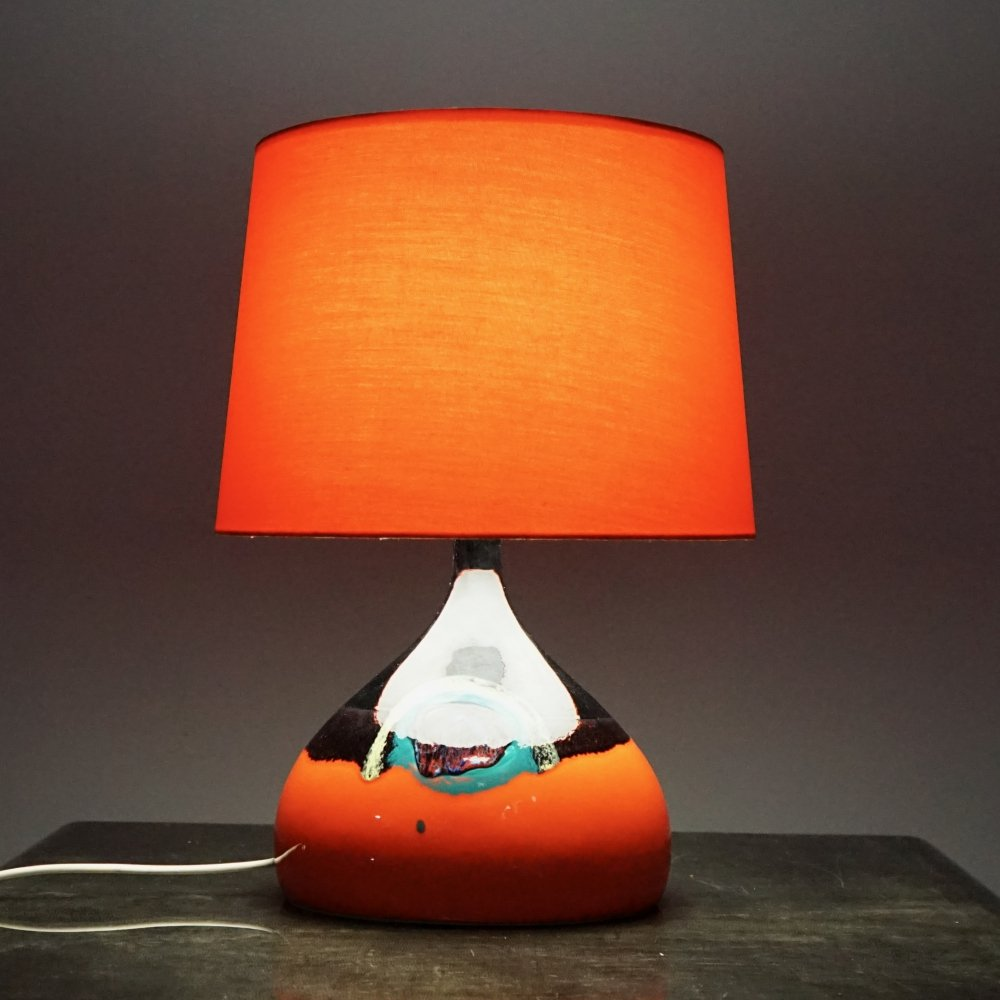Ceramic Table Lamp by Björn Wiinblad for Rosenthal, 1970s
