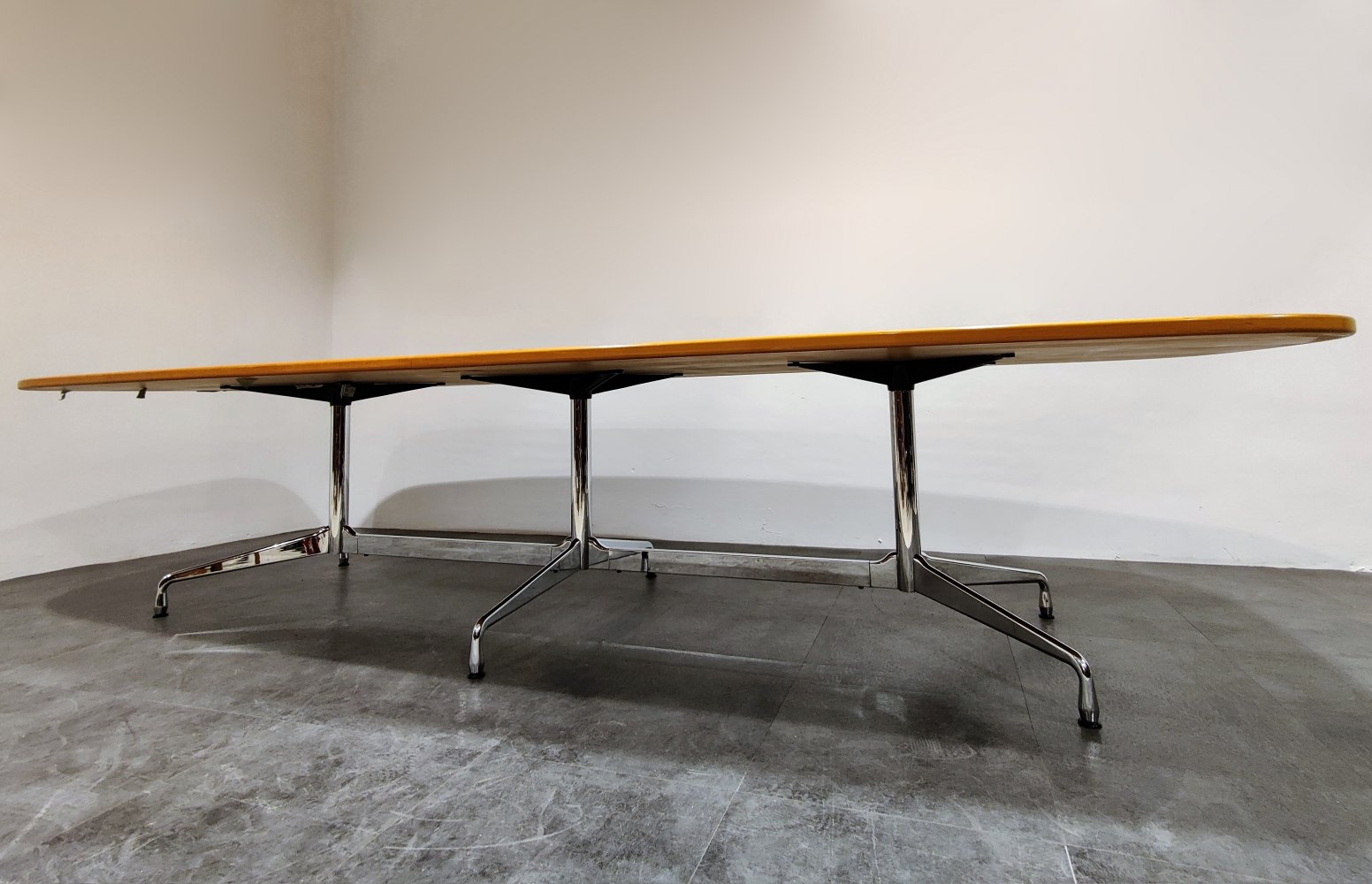 Charles & Ray Eames for Vitra segmented Dining or conference table, 1990s