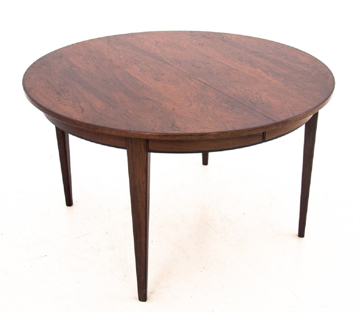 Rosewood dining table by Omann Jun, 1960s