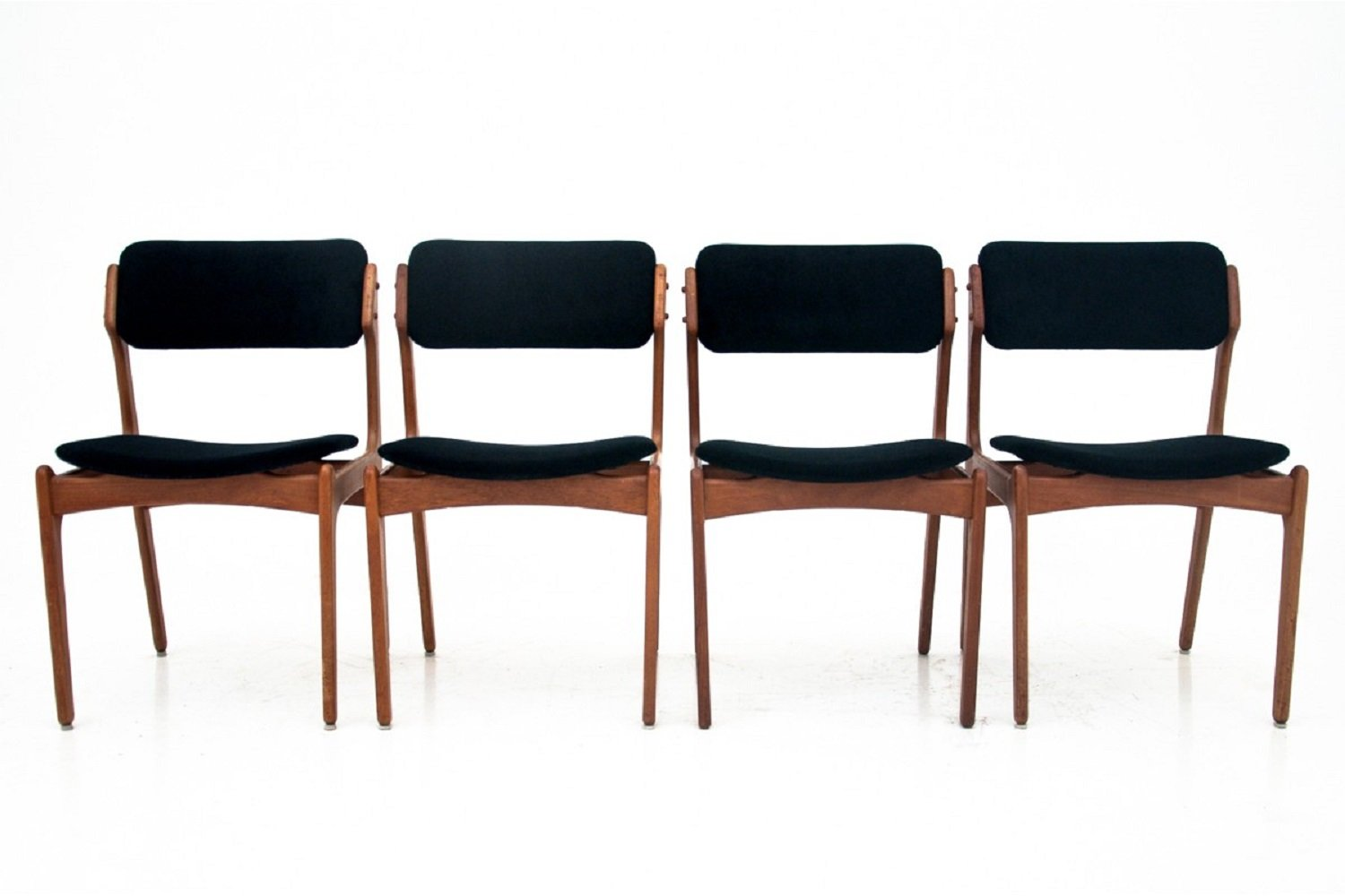 Four Danish Dining Chairs, 1970s