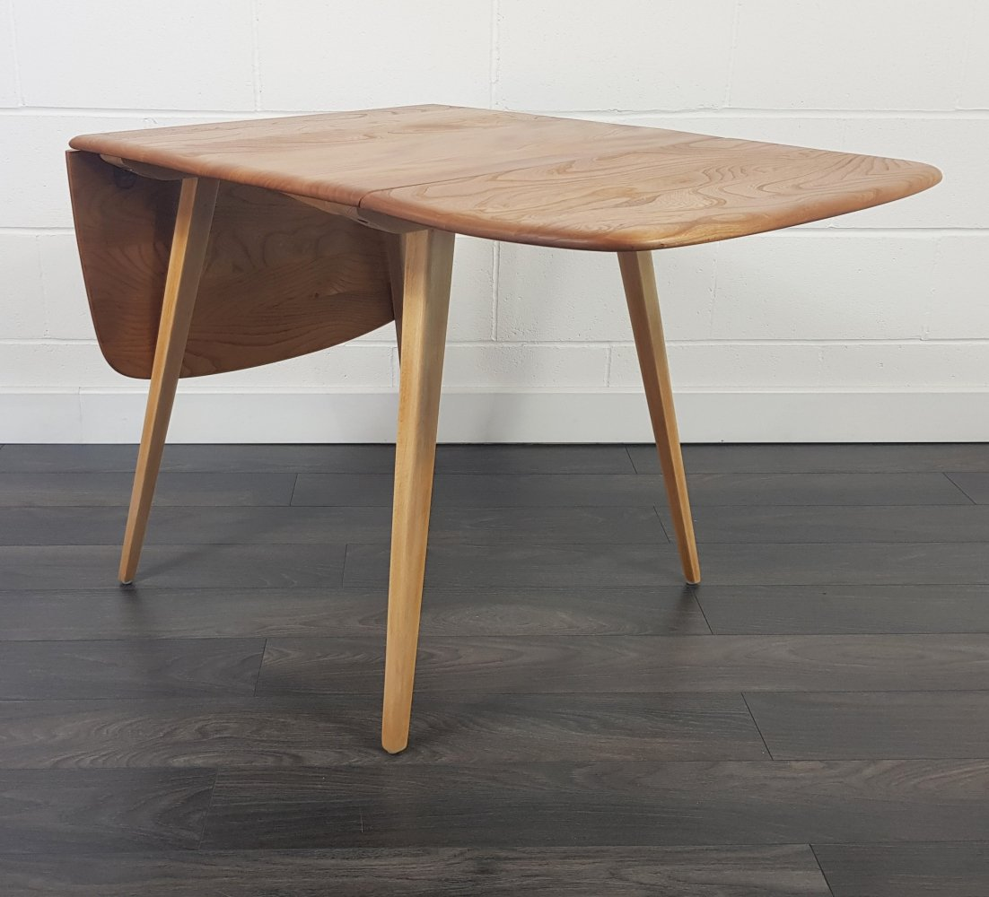 Ercol Drop Leaf Dining Table, 1960s