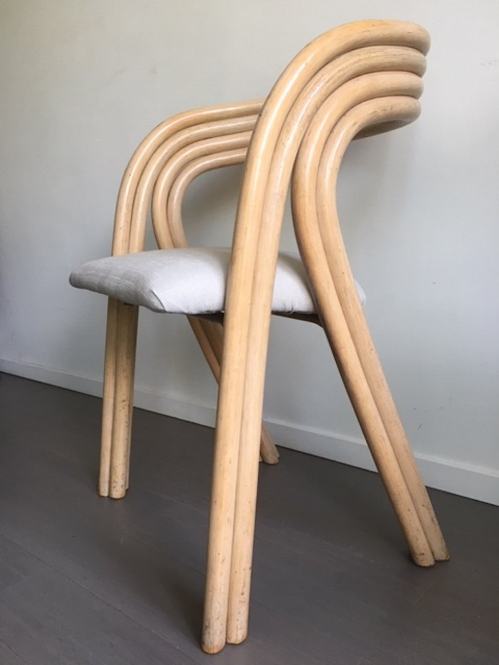 Set of 4 dining chairs by Axel Enthoven for Rohé Noordwolde, 1970s