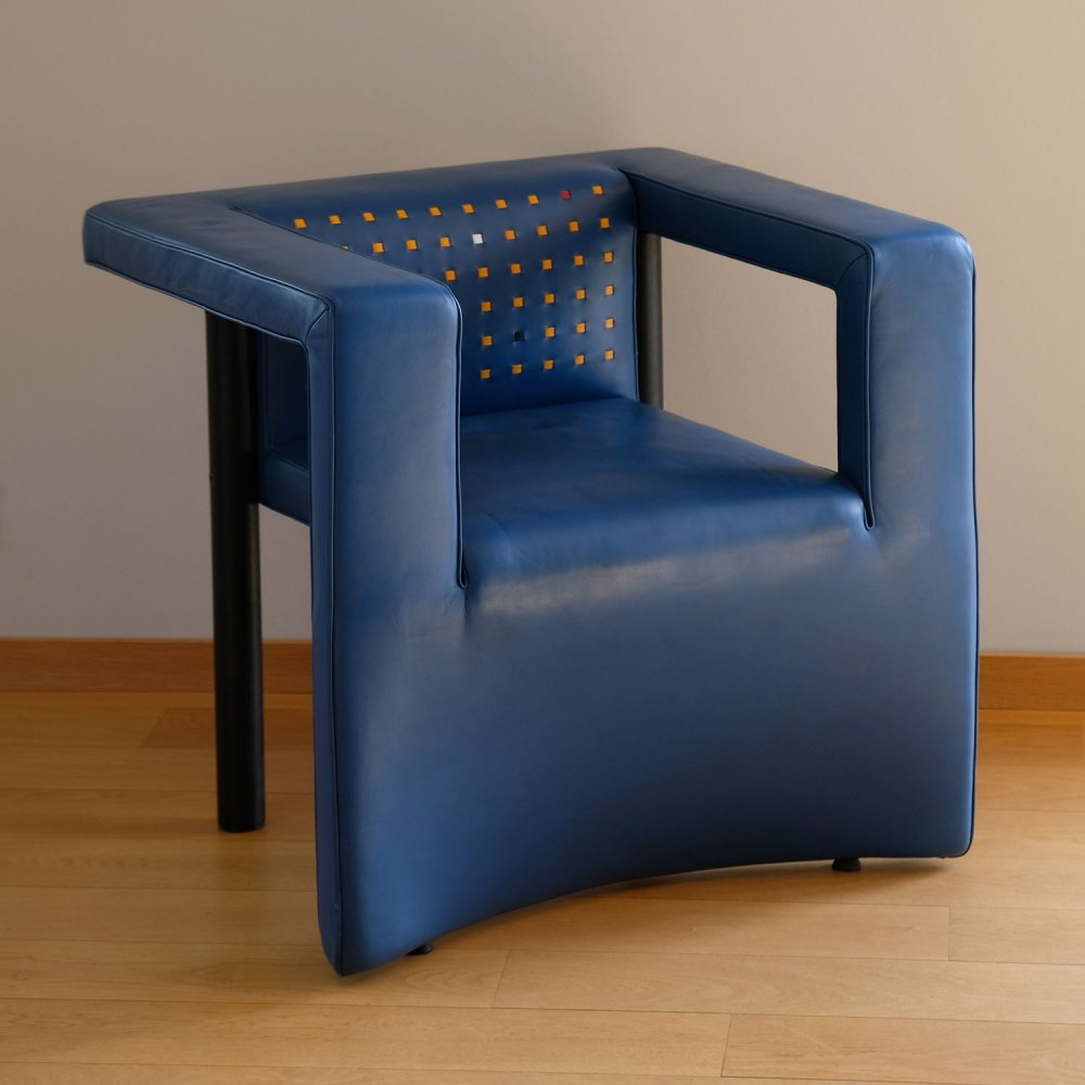 DS 206/11 postmodern armchair by Paolo Piva for De Sede, 1989
