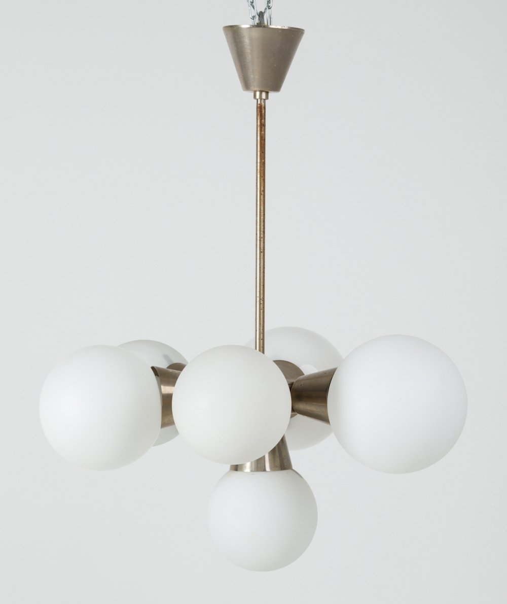Pendant Lamp from Kamenicky Senov, 1960s