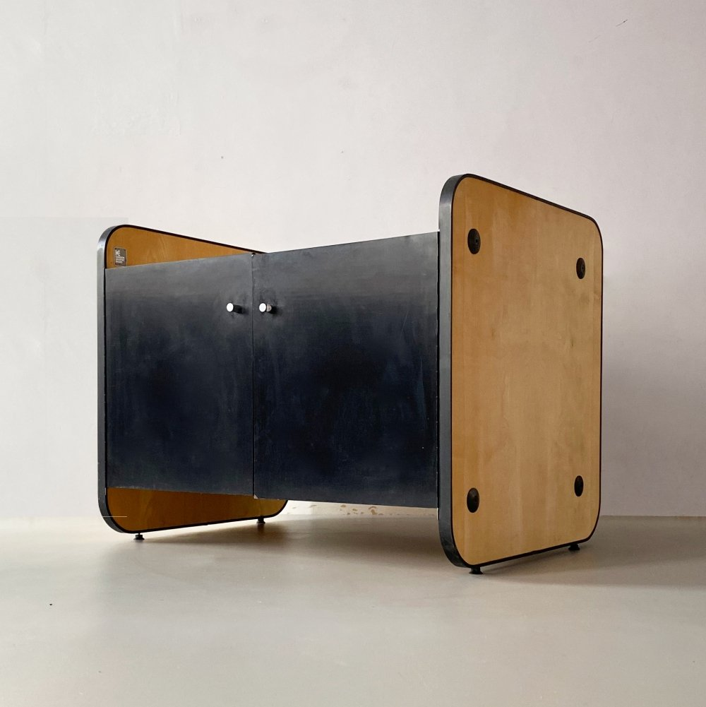 Sycamore Veneer Plan Chest / Cabinet by Colin Cheetham, England c.1960