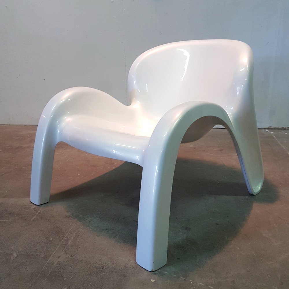 Rare model GN2 space age lounge chair by Peter Ghyczy, Germany 1970