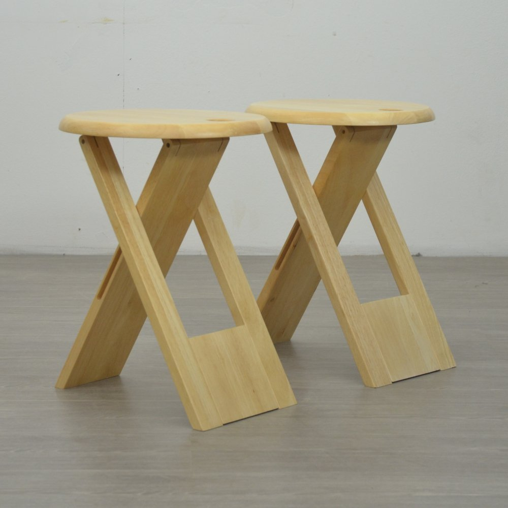 Pair of Suzy Stools by Adrian Reed for Princes Design Works, 1980s