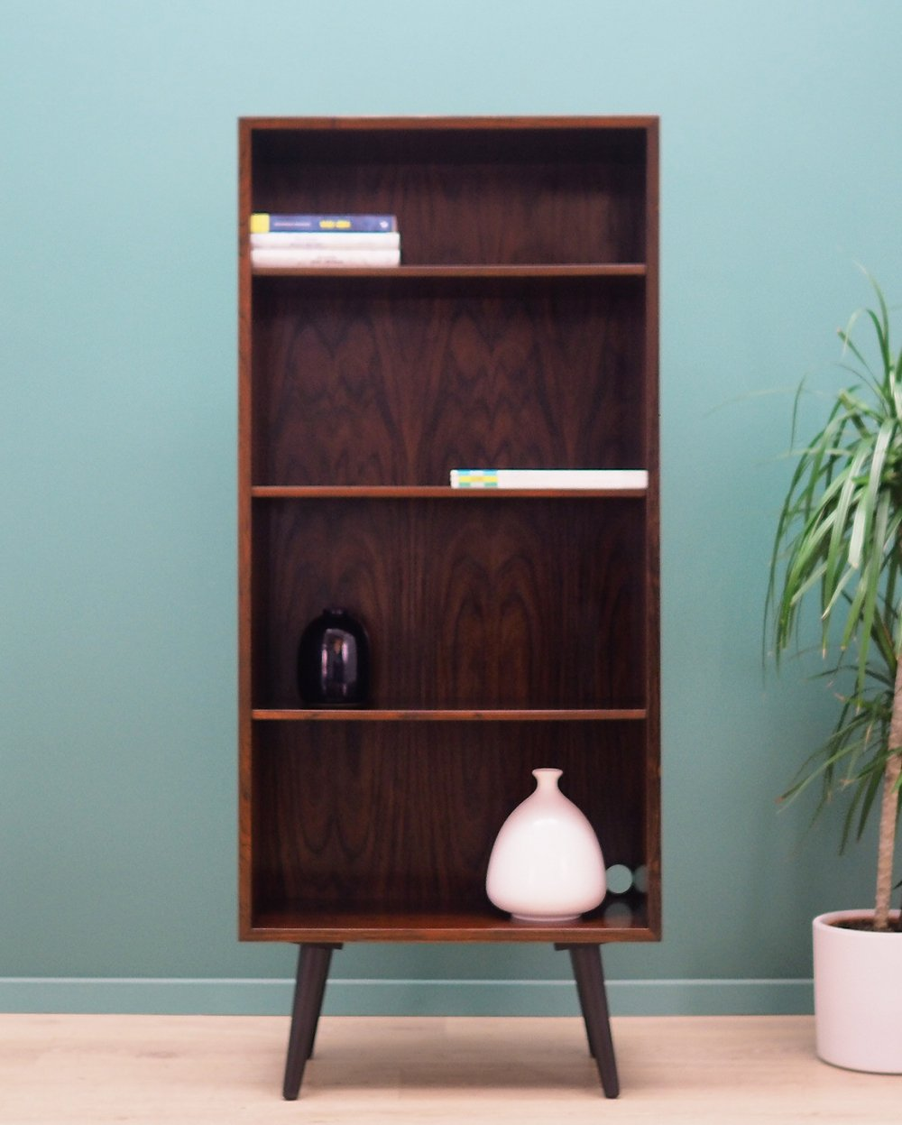 Rosewood Bookcase by Omann Jun, 1960s