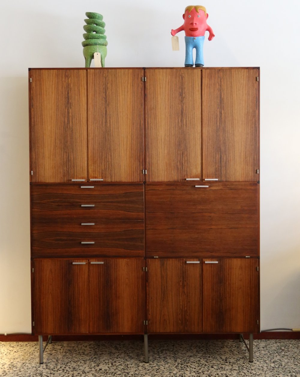 Rosewood Made to Measure cabinet by Cees Braakman, 1960s