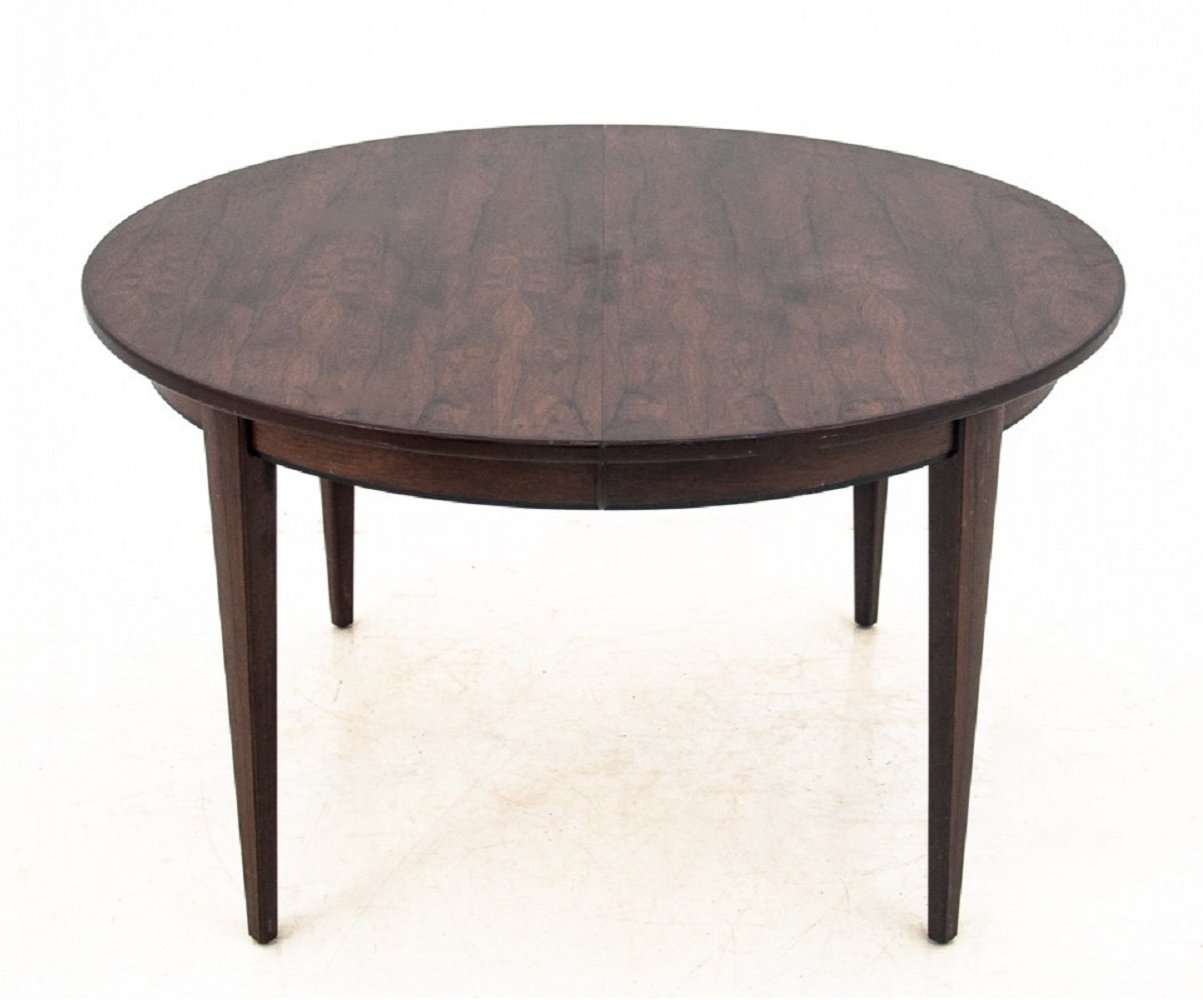 Rosewood extendable dining table from Omann Jun Mobelfabrik, 1960s