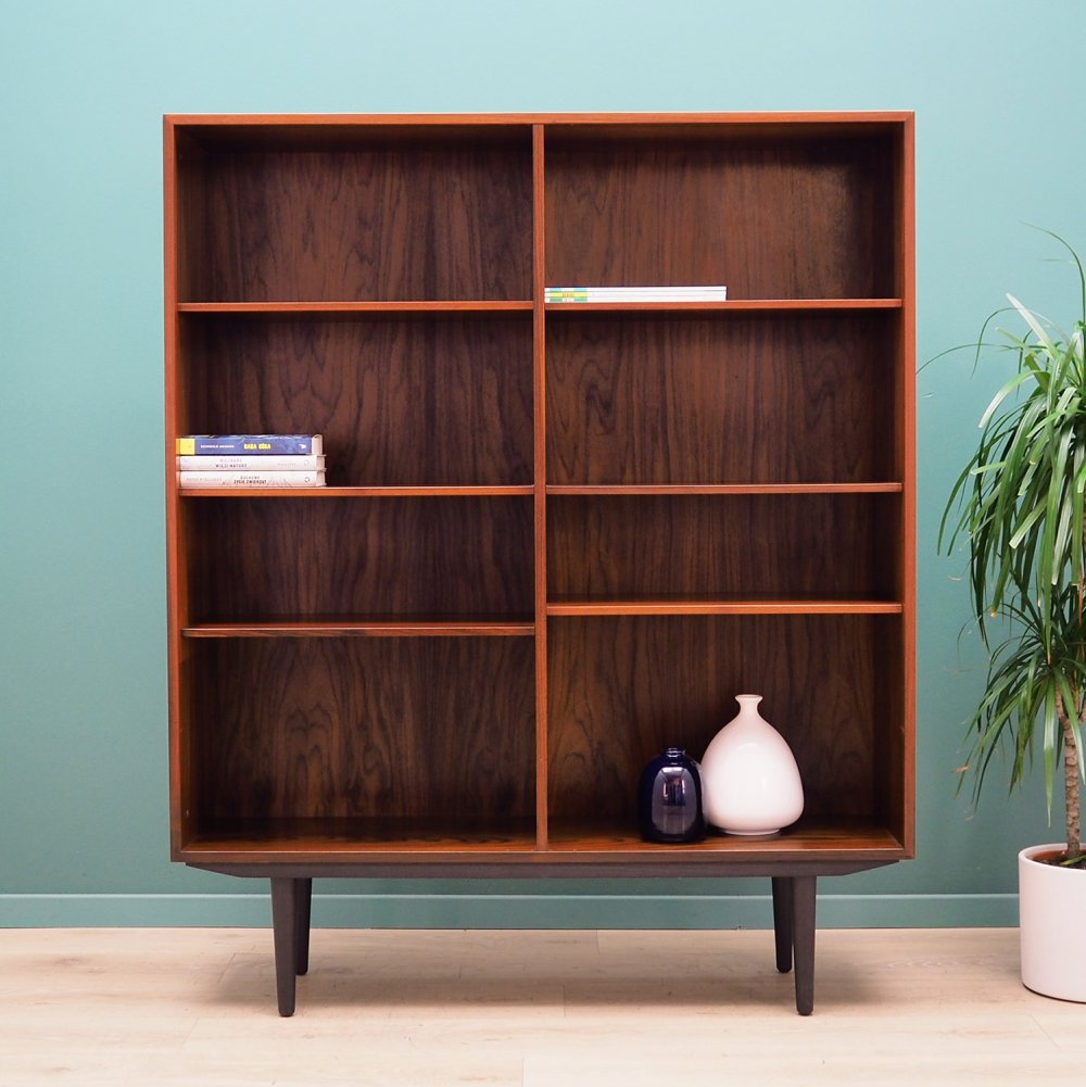 Danish design Bookcase in rosewood by Ib Kofod Larsen for Faarup, 1970s