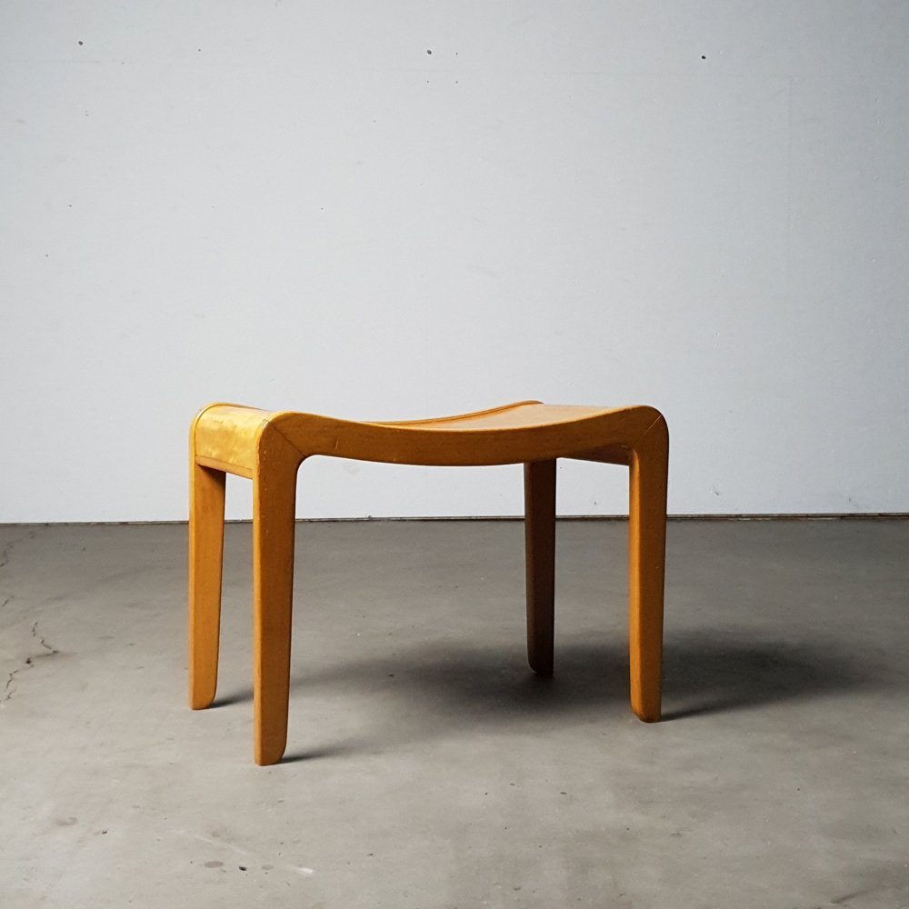 Wim van Gelderen Stool from the first series of furniture produced by