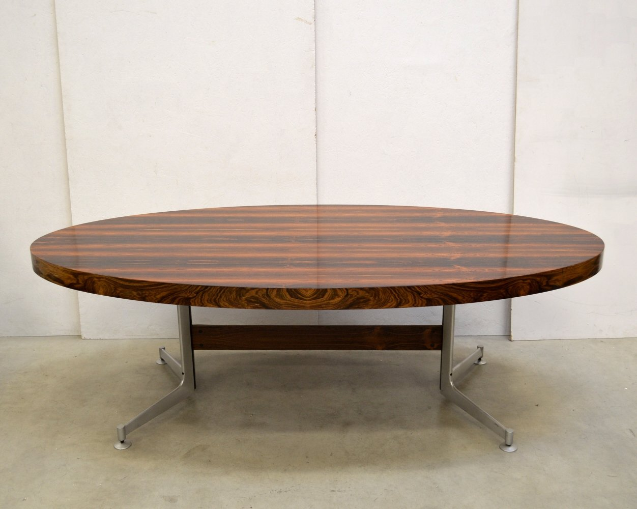 Rare Fabricius & Kastholm Rosewood Conference Table by Kill International, 1960s