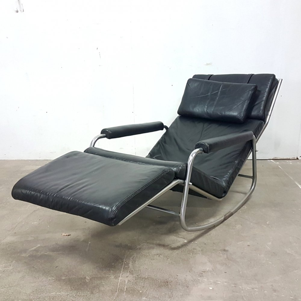 Extremely rare rocking lounge chair model 3265 by Gelderland, Netherlands 1968
