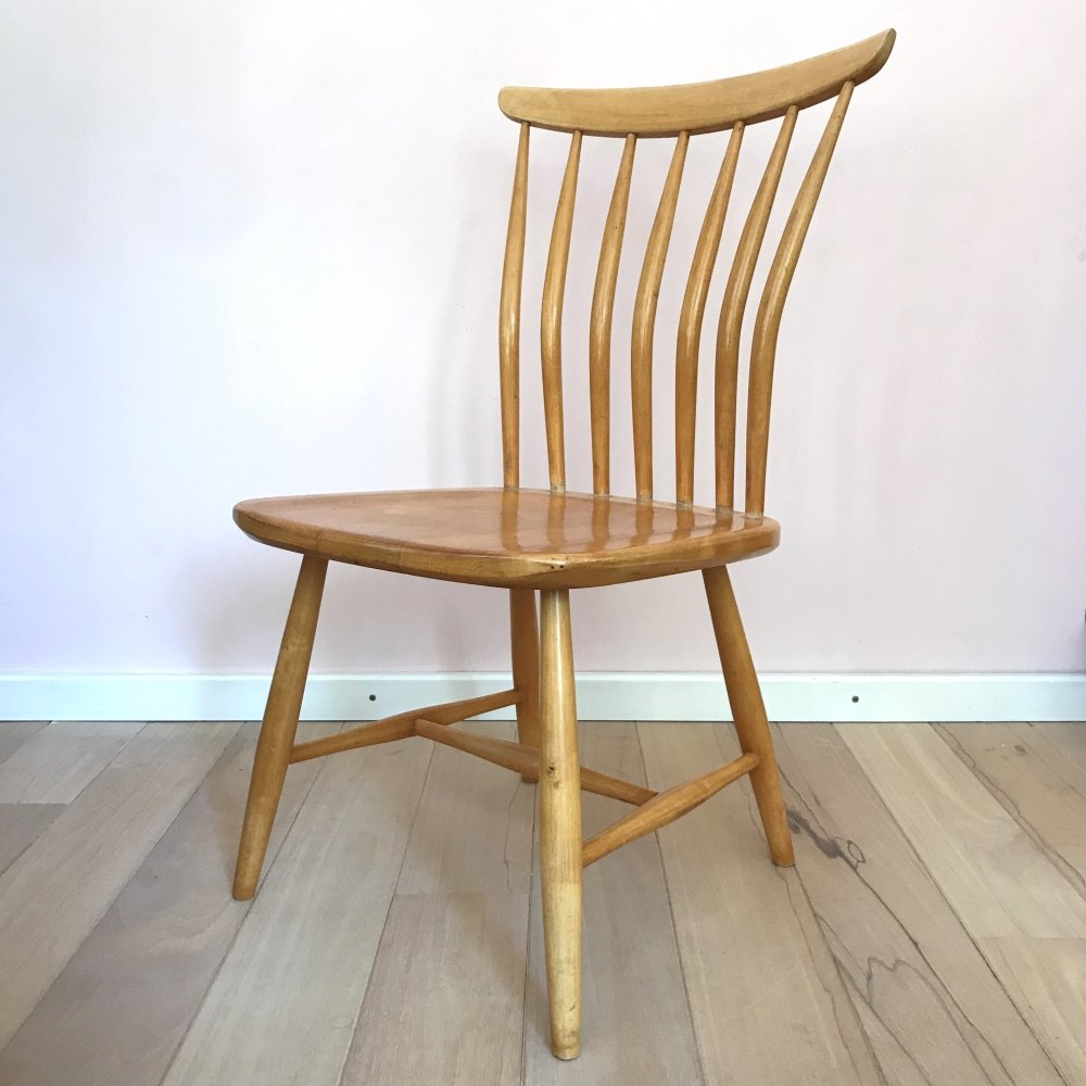 4 x SZ03 dining chair by Bengt Akerblom & Gunnar Eklöf for Akerblom, 1950s