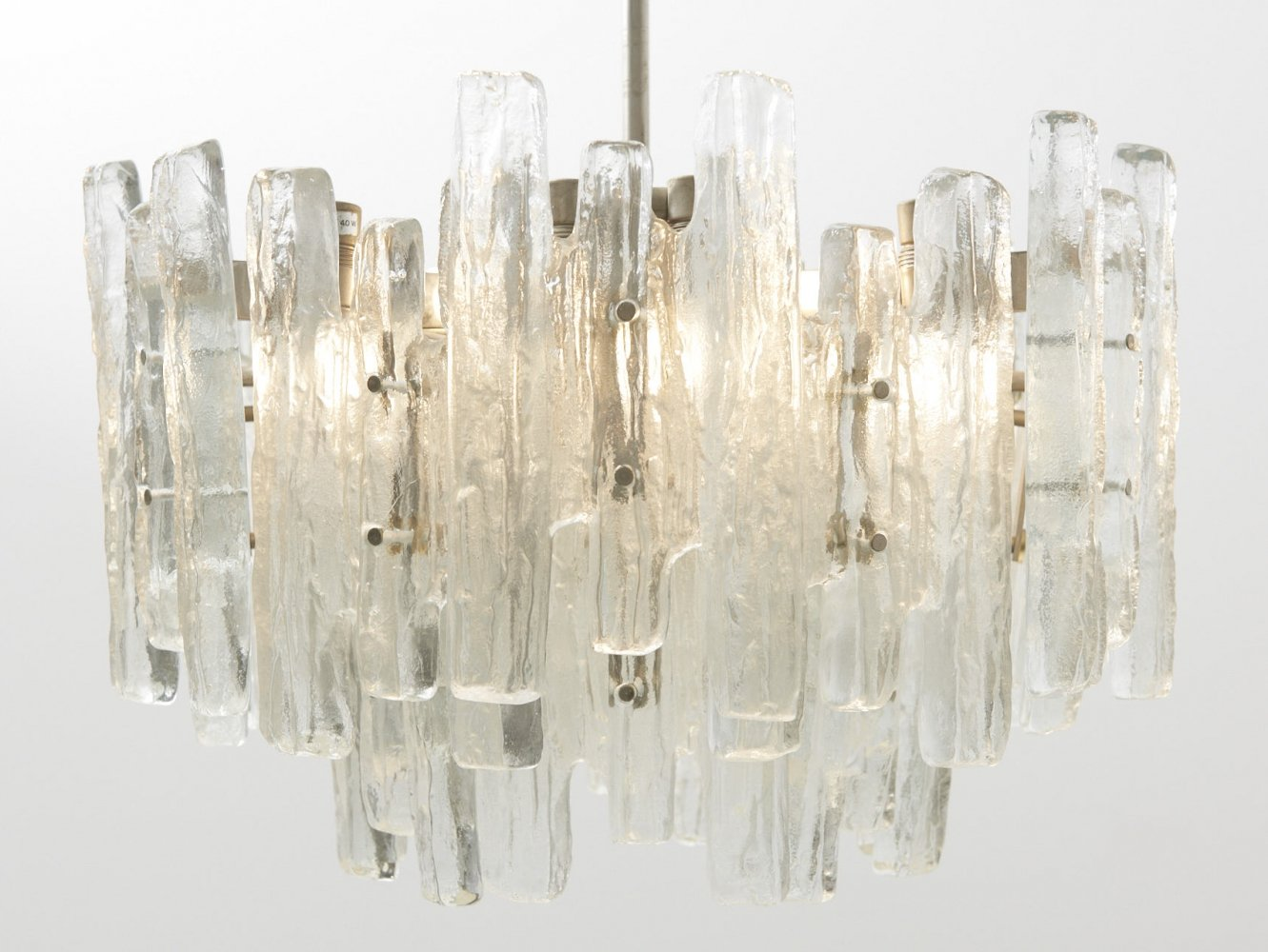 Large Glass Chandelier Model