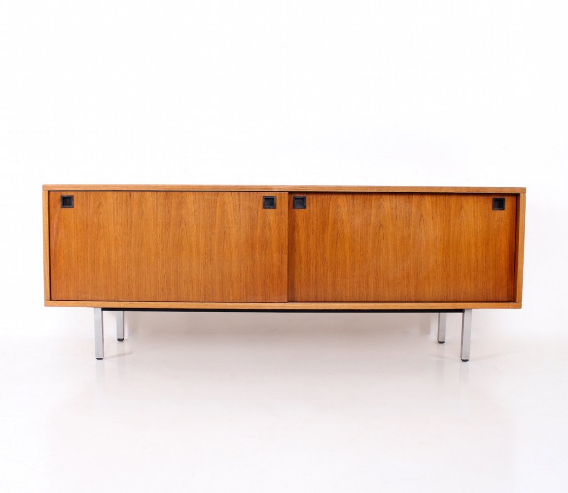 Rosewood sideboard with sliding doors by Alfred Hendrickx for Belform, 1960