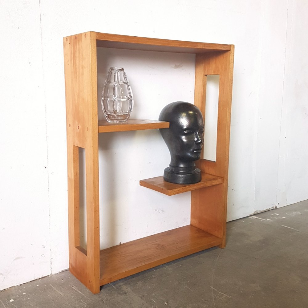 Solid beech cabinet with