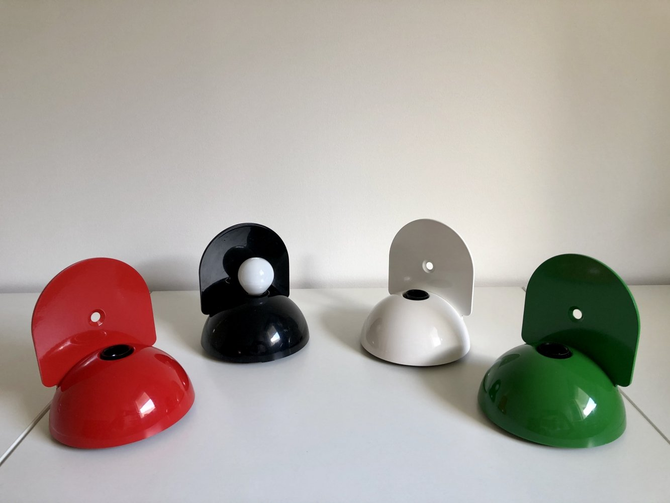 9 x Buco Wall Lamp by Claudio Dini for Artemide, 1974
