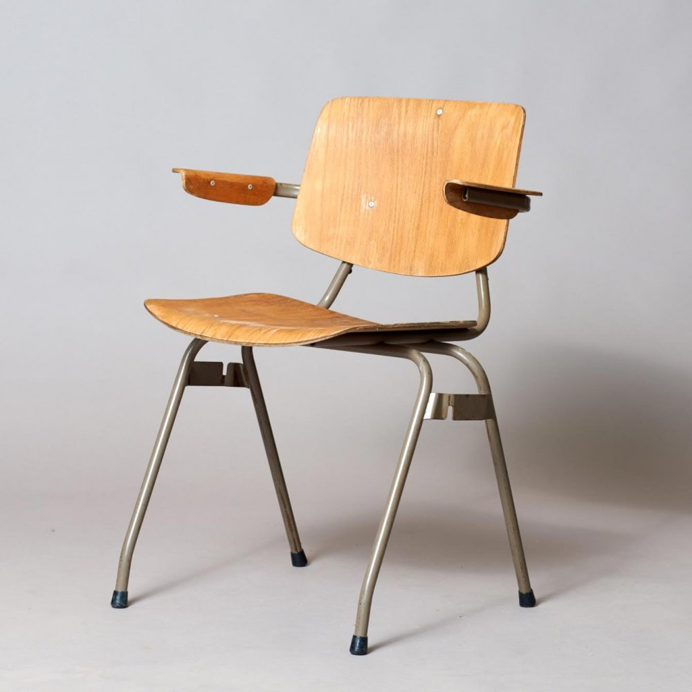 Model 315 arm chair by Kho Liang Ie for CAR Katwijk, 1950s