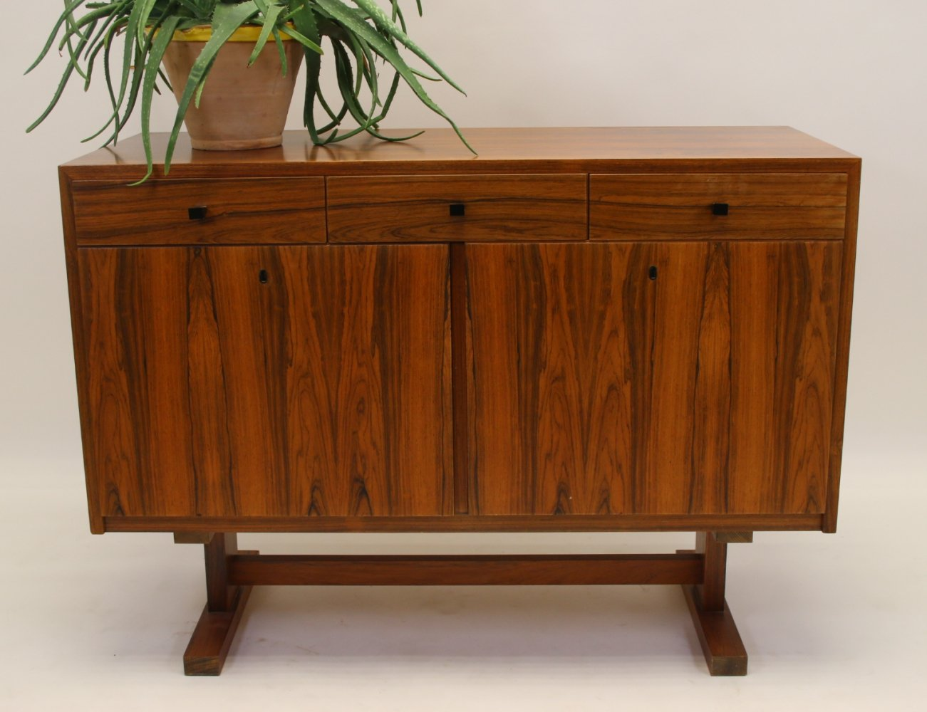 French Palisander side board with drawer & doors