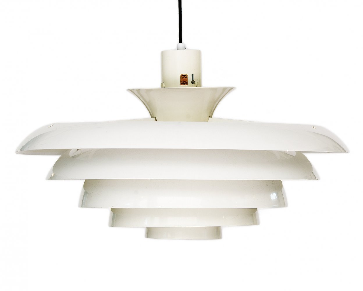 Space age XL pendant light by Fagerhults belysning, Sweden 1970s