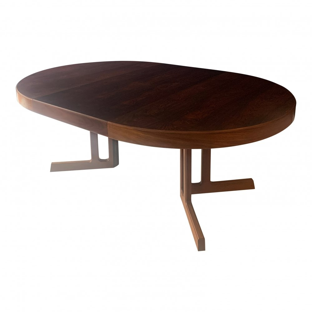 Extendable dining table by Johannes Andersen for Hans Bech, 1960s