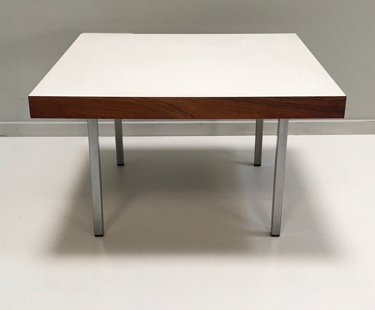 Model 1844 palissander & formica coffee table by Kho Liang Ie for t