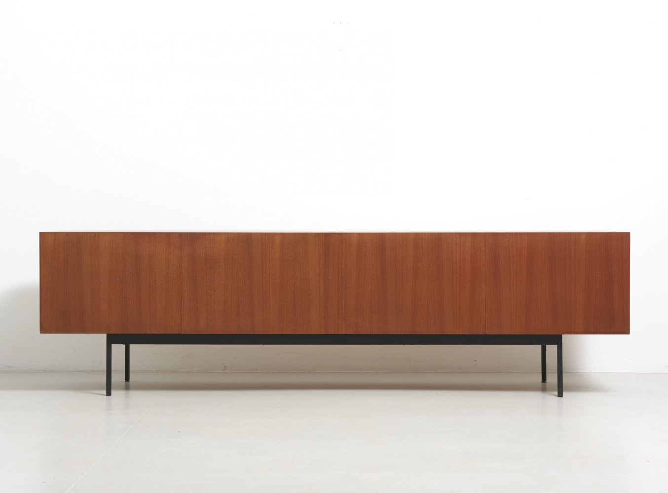 Sideboard Model B40 in Teak by Dieter Waeckerlin for Behr, Germany 1950