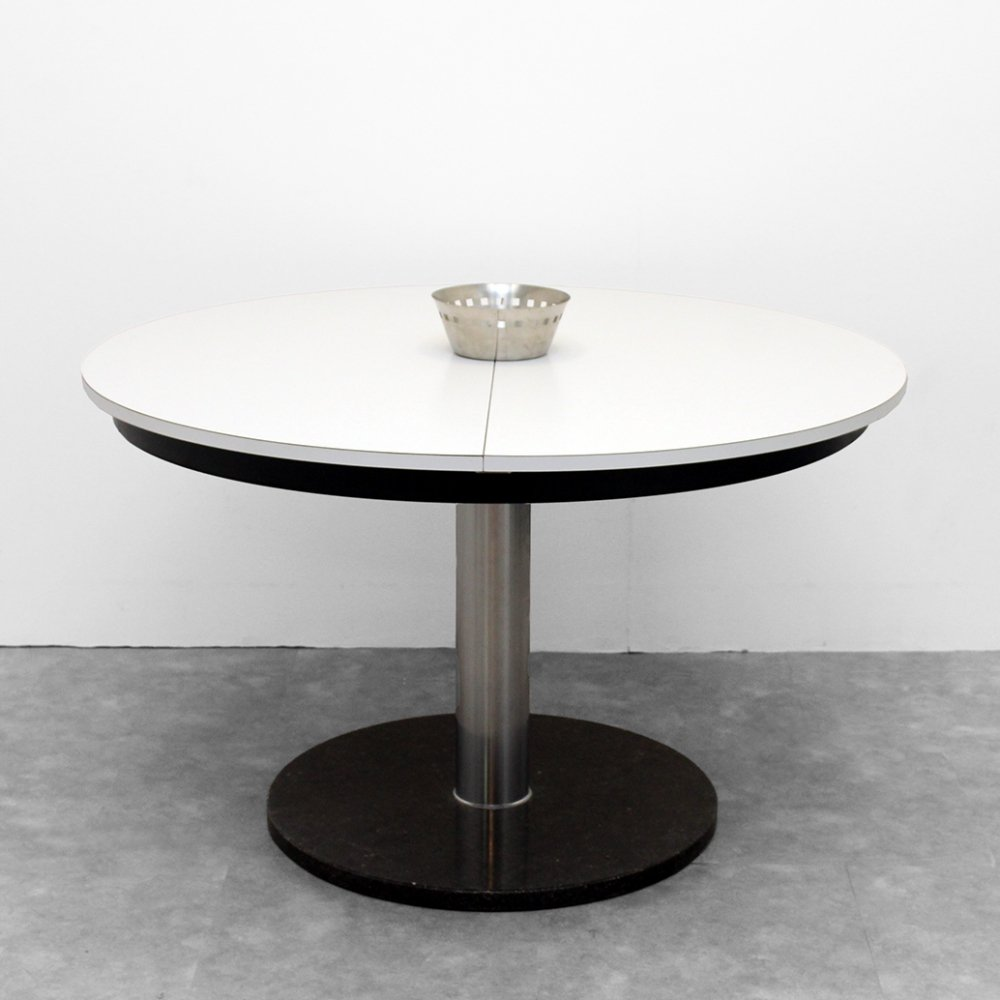 Extendable Design table by Alfred Hendrickx, 1970s