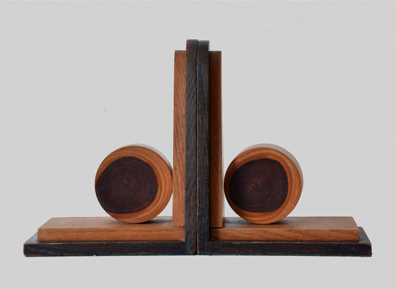 Pair of Art Deco Amsterdamse School bookends, 1930s