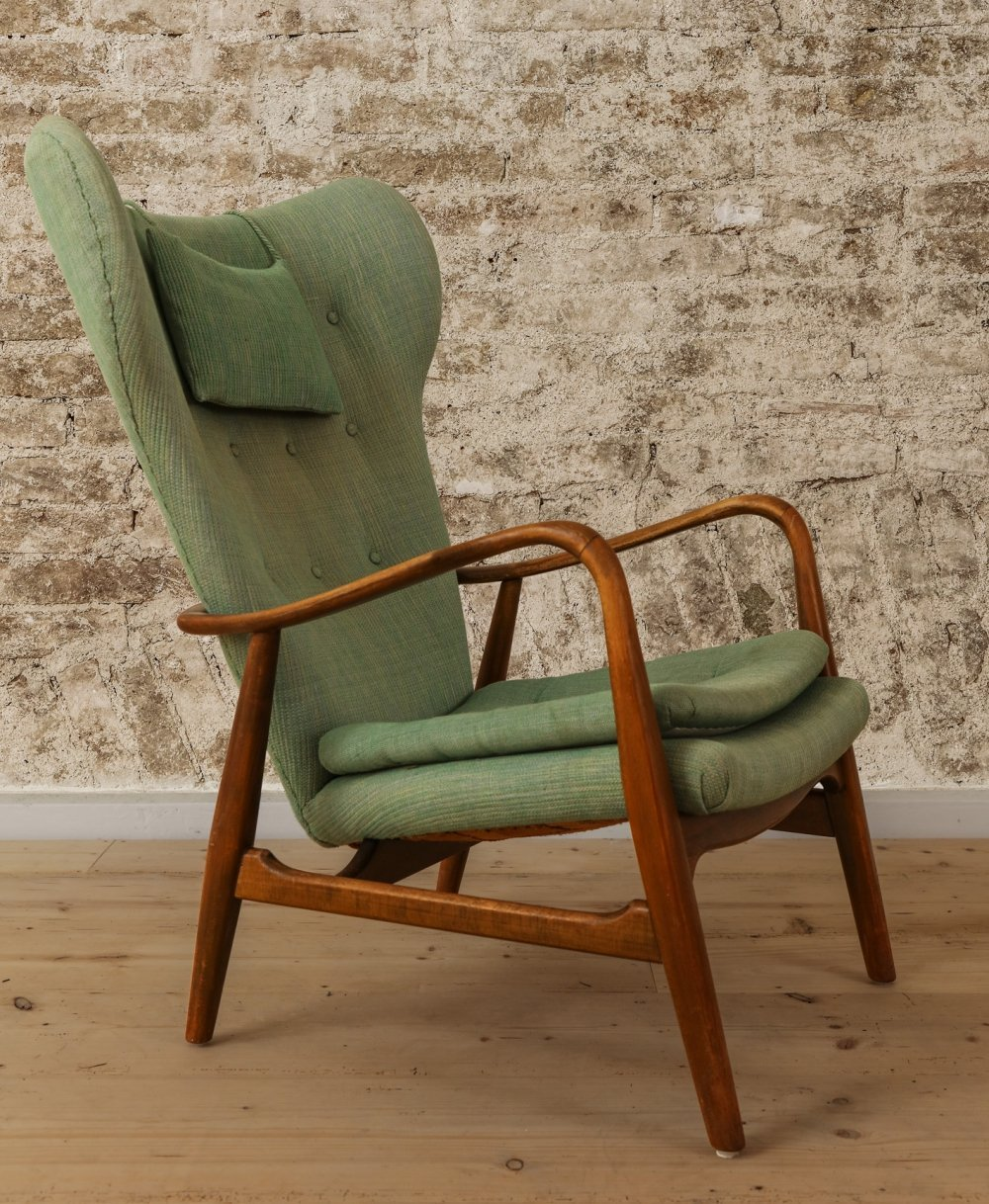 Mid-Century Easy Chair by Madsen & Schubel, Denmark 1950s