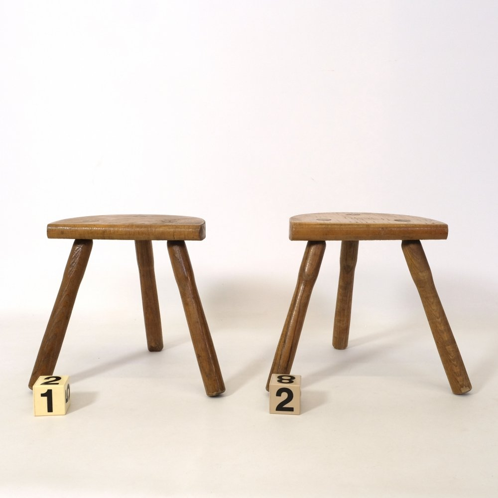 Little tripod stool from the 1960s-1970s
