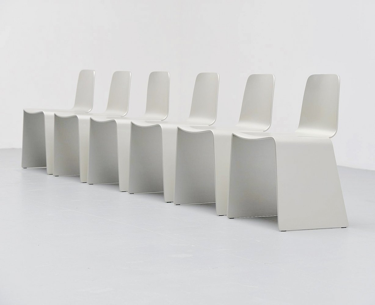 Peter Karpf nxt dining chairs by Voxia, Denmark 1991
