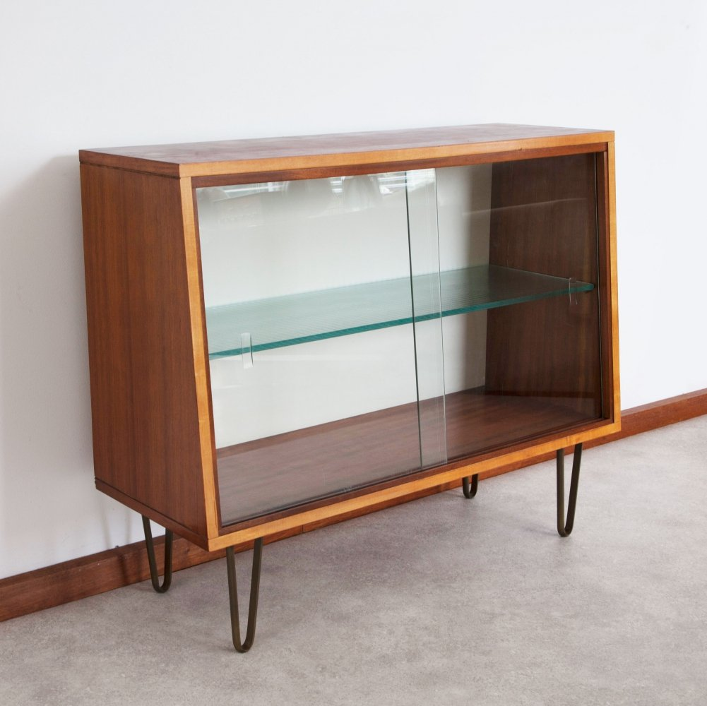 Rare small display cabinet by Alfred Hendrickx for Belform, 1950s