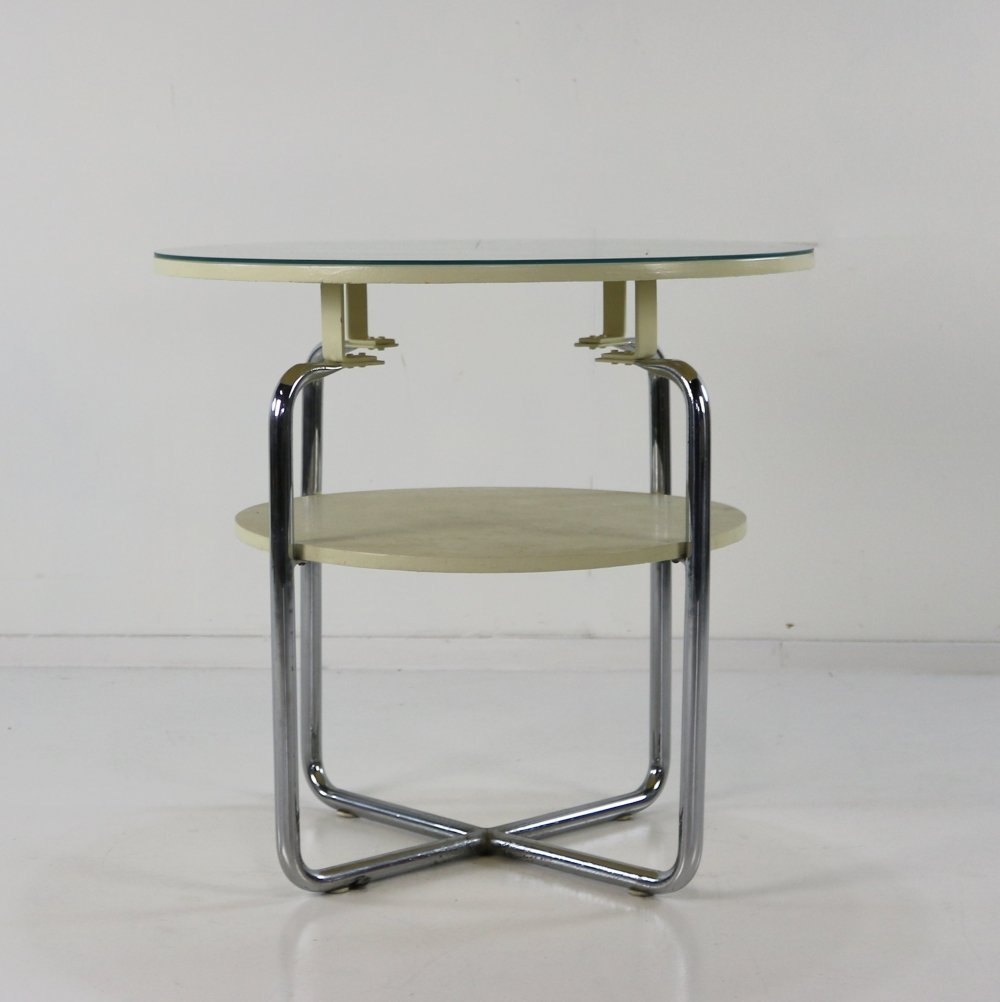 Special raised coffee lounge table by Gispen Holland