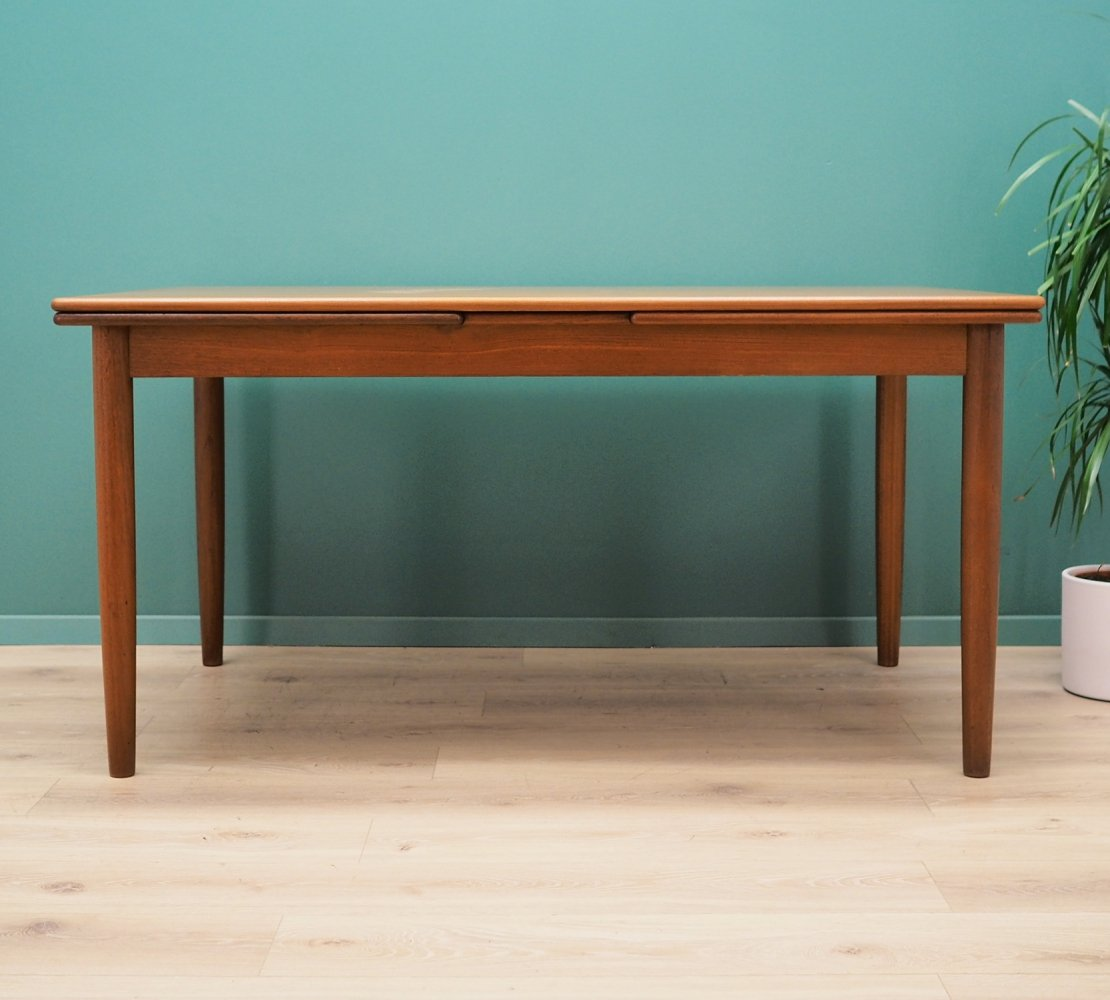 Danish design table in teak, 1960s