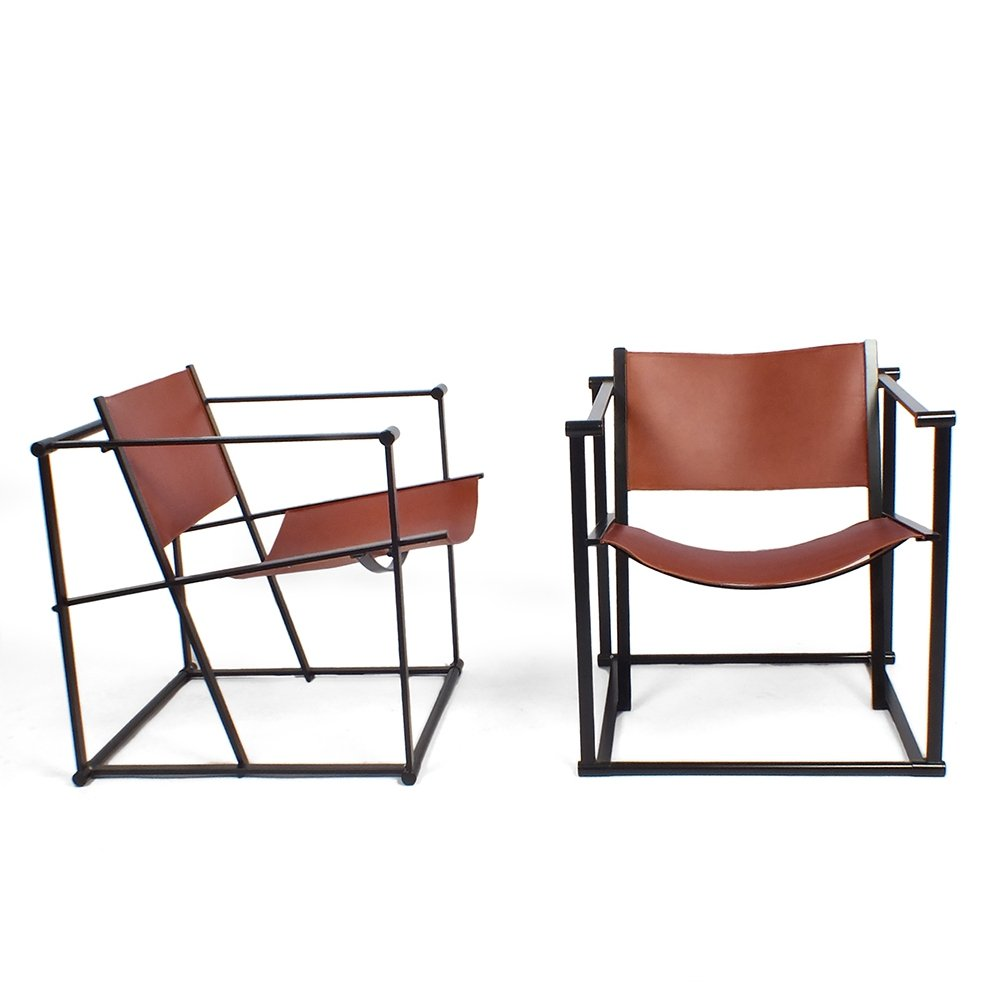 Lounge chair FM60 by Radboud van Beekum for Pastoe, 1980s