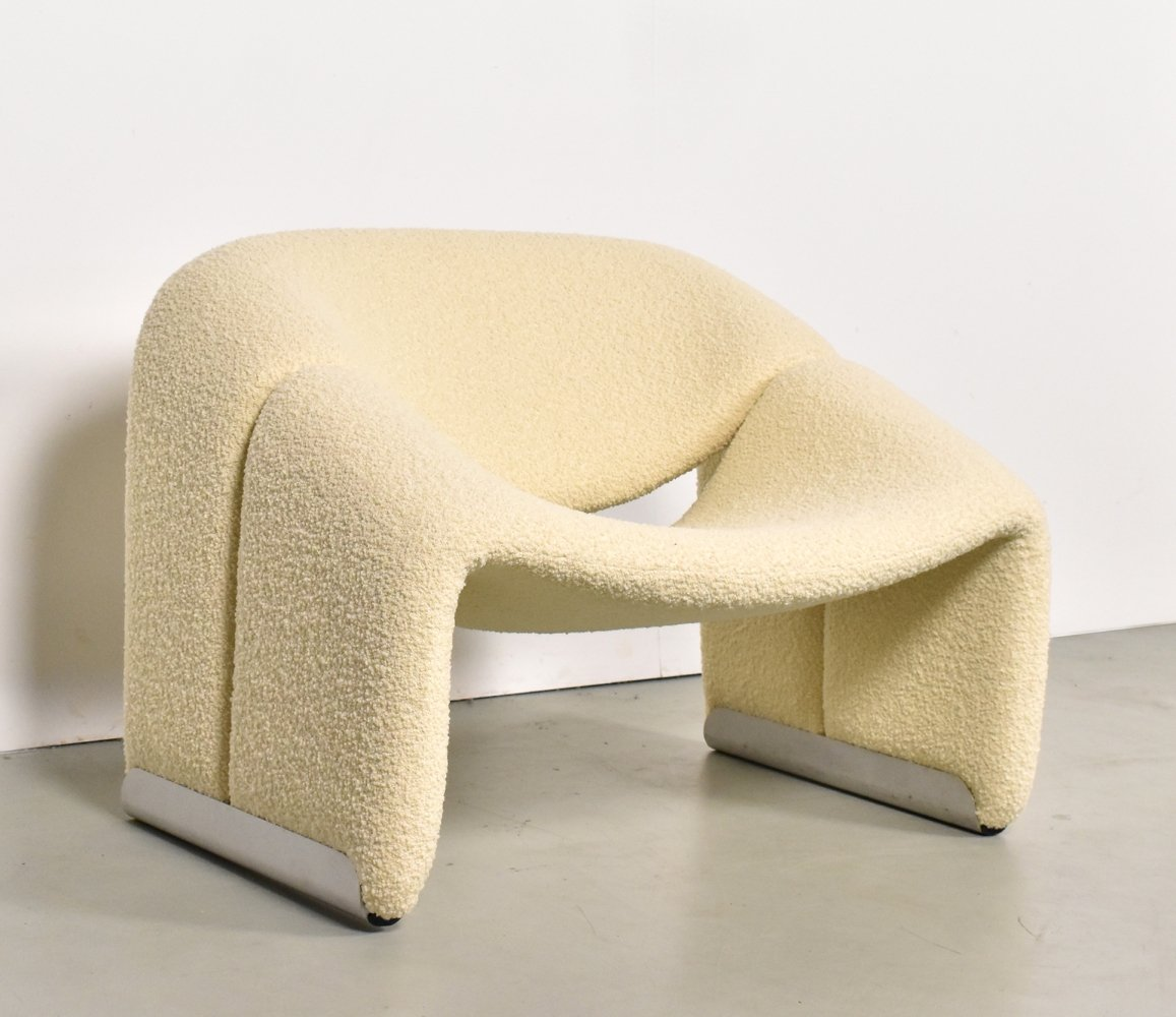 Groovy M-chair by Pierre Paulin for Artifort, 1970s