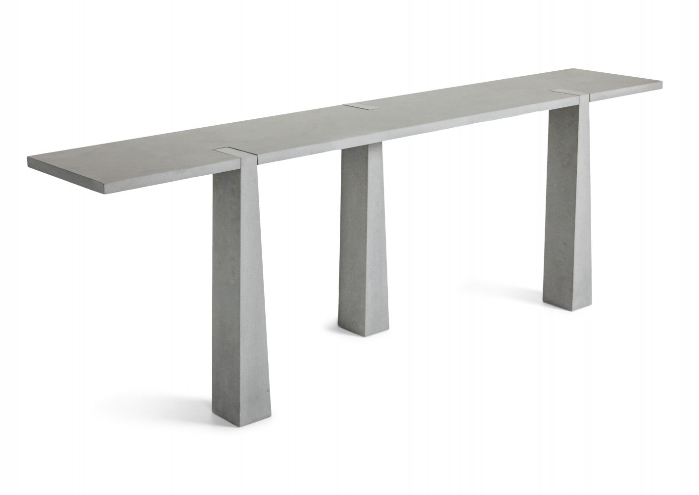 Inca console table by Angelo Mangiarotti for Skipper, Italy 1970