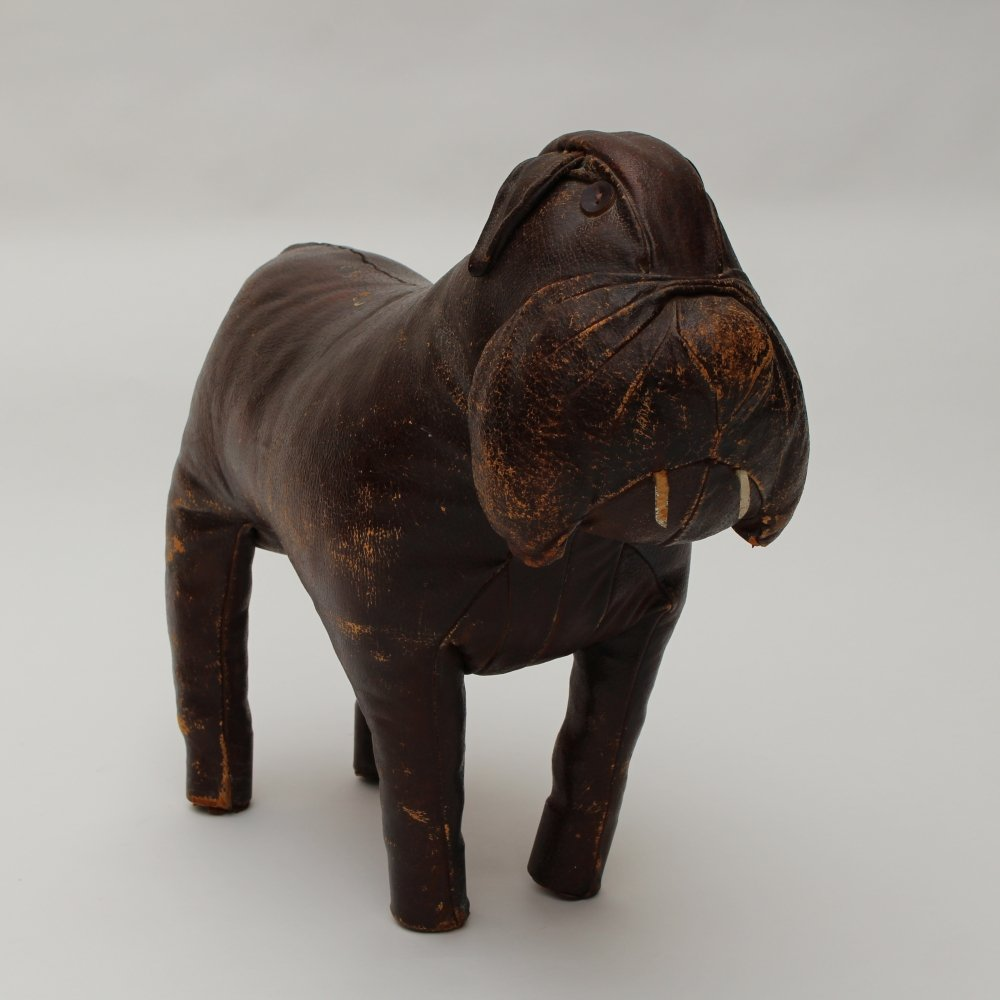 Leather Omersa Dog, 1960s