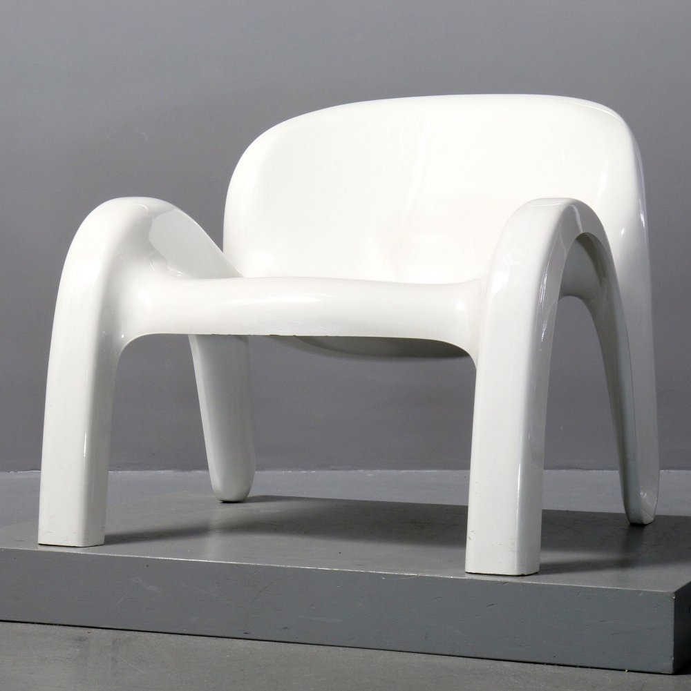 GN2 Form & Life Lounge Chair by Peter Ghyczy for Reuter Product Design, 1970s